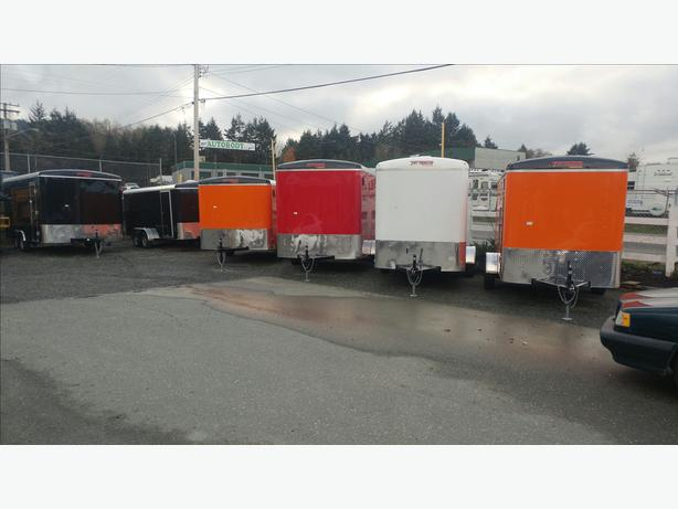 New Cargo Trailers Vancouver Island