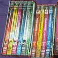 O.B.O Power Rangers Seasons 1-17 4 Piece DVD Box Set