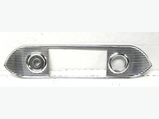 1962 63 64 65 Chevy II Nova SS Acadian Radio Face Plate