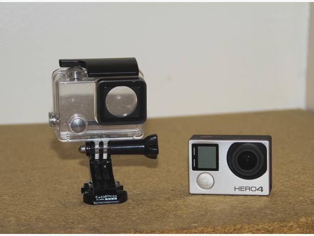 gopro hero 4 silver and accessories price drop saanich. Black Bedroom Furniture Sets. Home Design Ideas