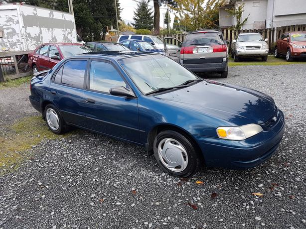1999 toyota corolla ce 4 cylinder west shore langford. Black Bedroom Furniture Sets. Home Design Ideas
