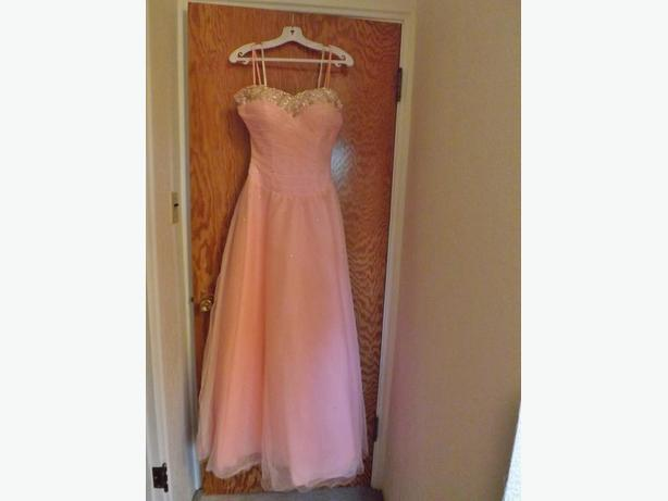 Pink Formal Grad Dress Size 10