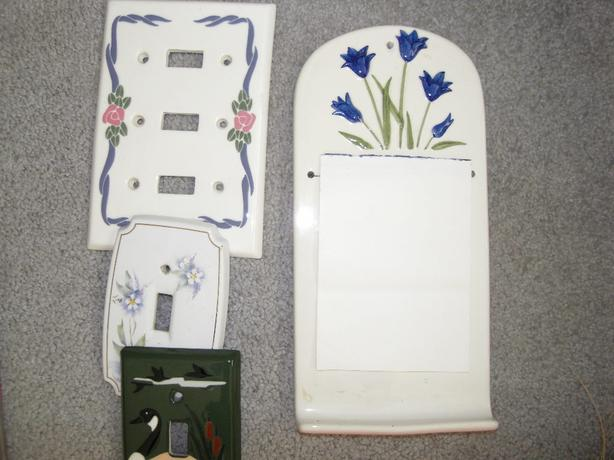 Decorative switch plate covers