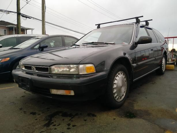 rare 1991 honda accord ex r wagon auto lots of recent work must see north vancouver vancouver. Black Bedroom Furniture Sets. Home Design Ideas