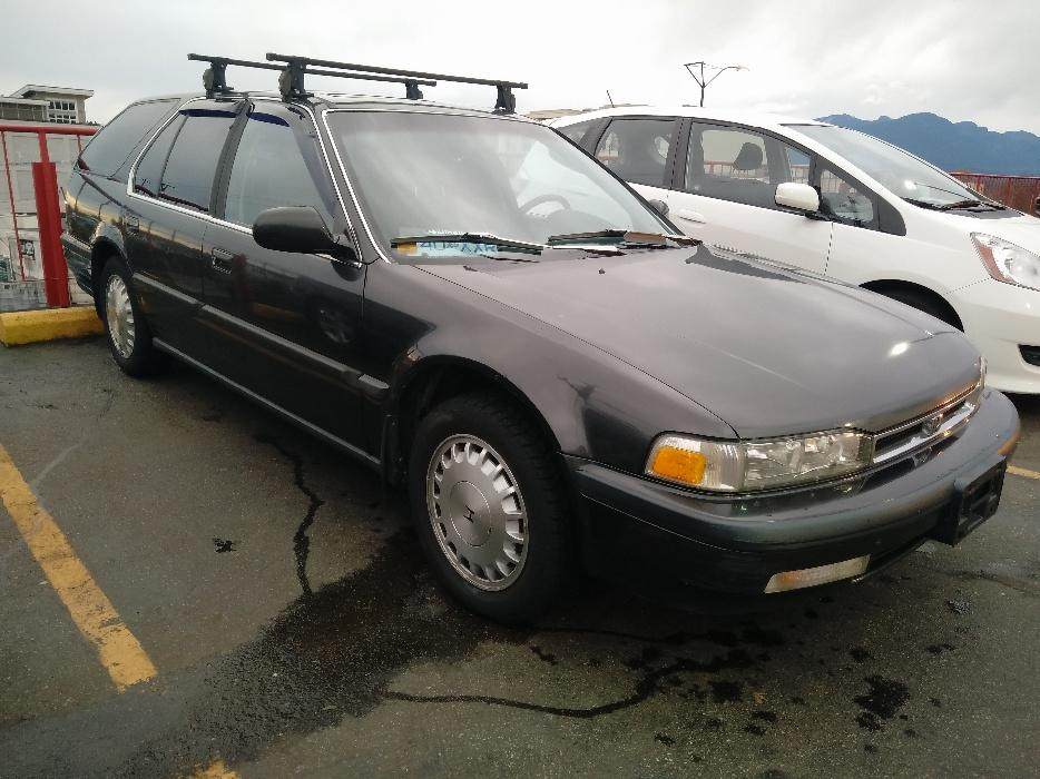 rare 1991 honda accord ex r wagon auto lots of recent work must see north vancouver surrey. Black Bedroom Furniture Sets. Home Design Ideas