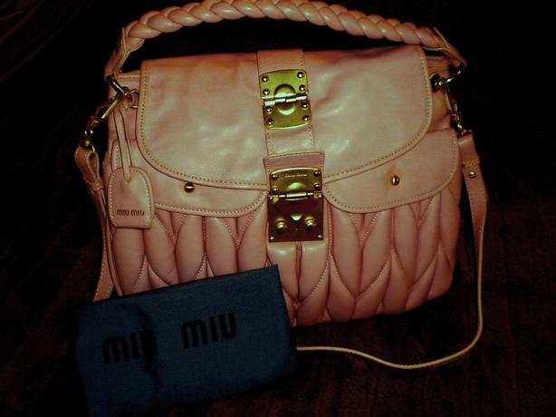 Beautiful Leather  Miu Miu Replica Bag