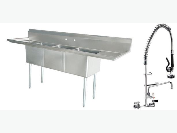 Stainless Commercial Sink