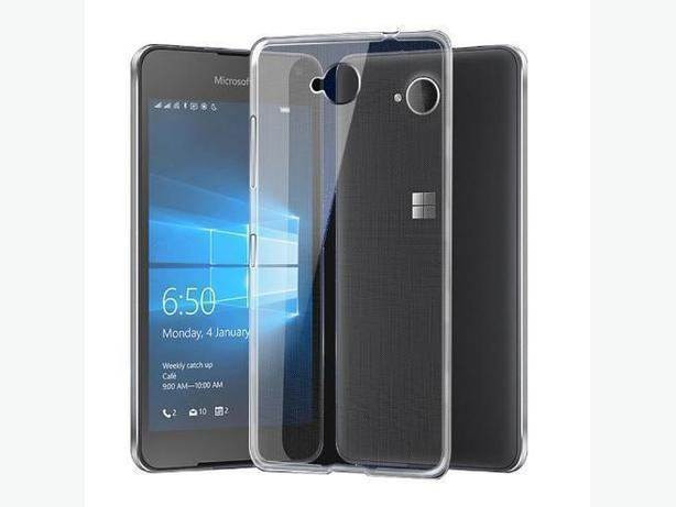 Soft TPU Silicone Clear Case for Nokia Lumia N650 650