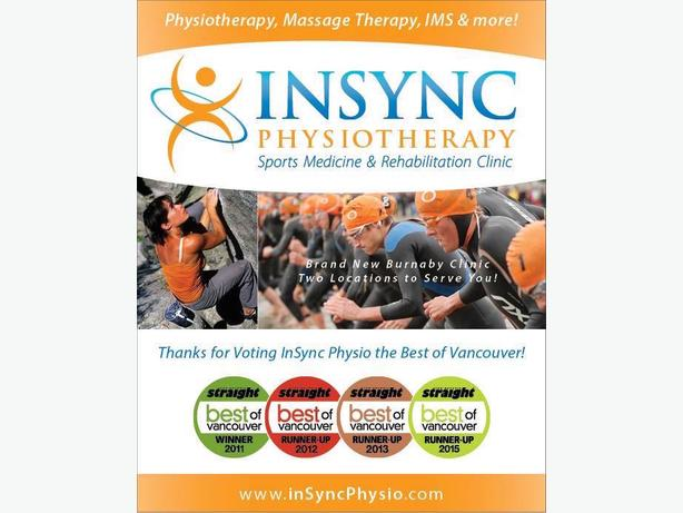 Physiotherapy in Vancouver | InSync Physiotherapy – Cambie Street