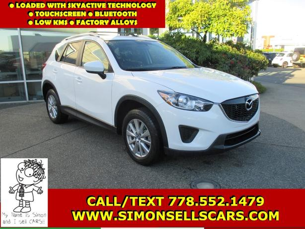 2015 MAZDA CX-5 GS - NICLEY EQUIPPED - TOUCHSCREEN MEDIA!