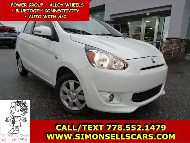 2015 MITSUBISHI MIRAGE ES - FUEL MIZER - LOW KMS!