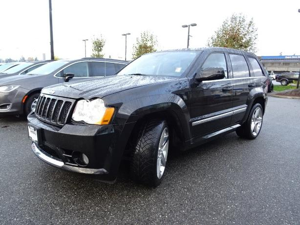 2010 JEEP GRAND CHEROKEE SRT8 - ONE OWNER - SUPER CLEAN!