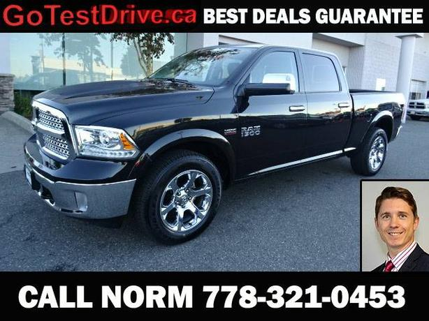 2016 RAM 1500 Laramie 4x4 Crew Cab 5.6 ft. box