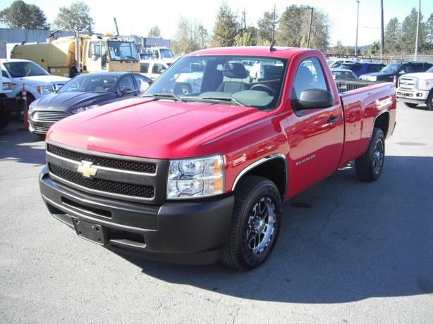 2010 Chevrolet Silverado 1500 Work Truck Long Box 2WD