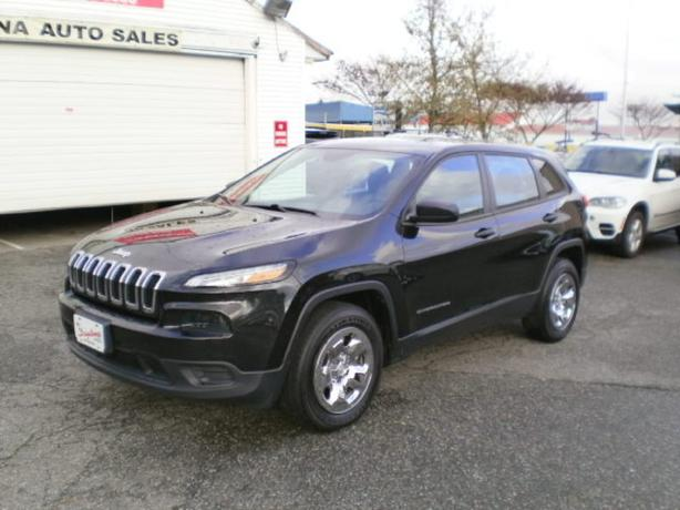 2014 Jeep Cherokee Sport 4wd, no accidents,