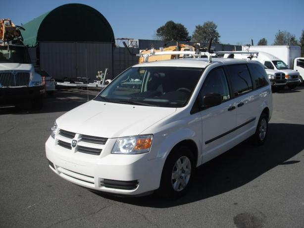 2010 Dodge Grand Caravan Cargo Van w/ Shelving and Ladder Rack