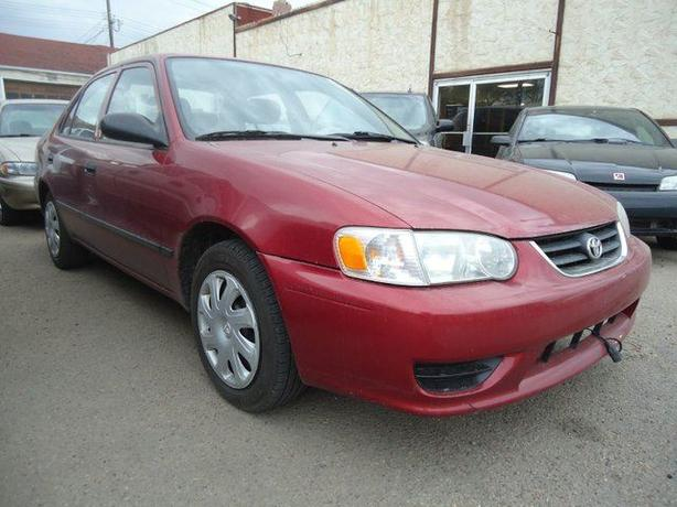 2001 Toyota Corolla one owner