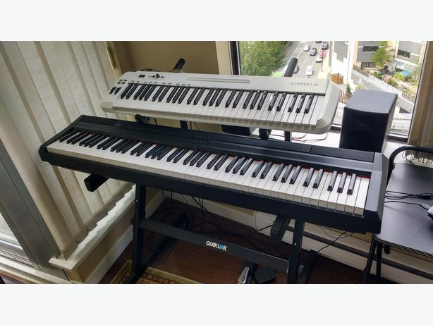 Yamaha Electronic Piano, Midi Controller and Stand