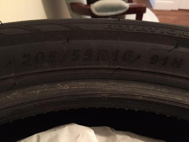 100% Tread 4 WINTER Tires For Sale