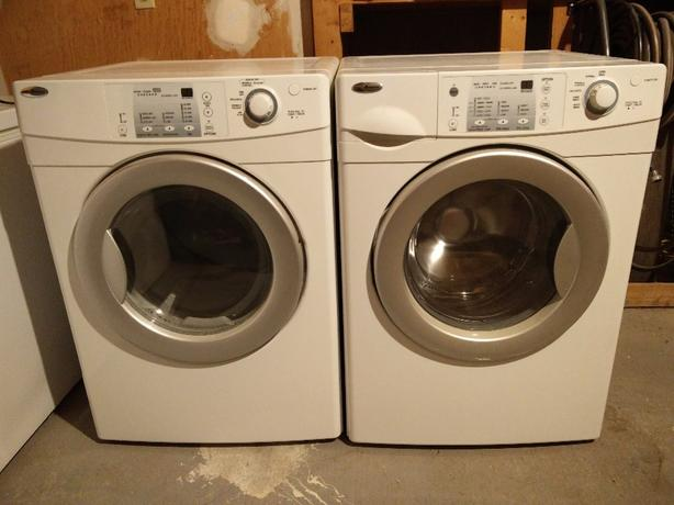 Amana He Front Load Stackable Washer And Dryer Orleans Ottawa