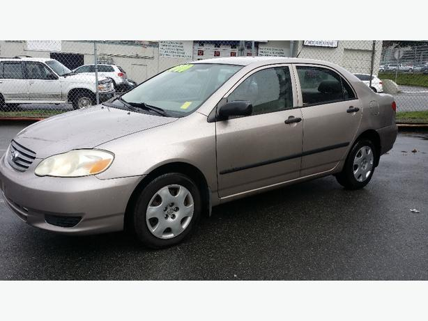 2003 TOYOTA COROLLA !!! LOCAL !!! CLEAN TITLE