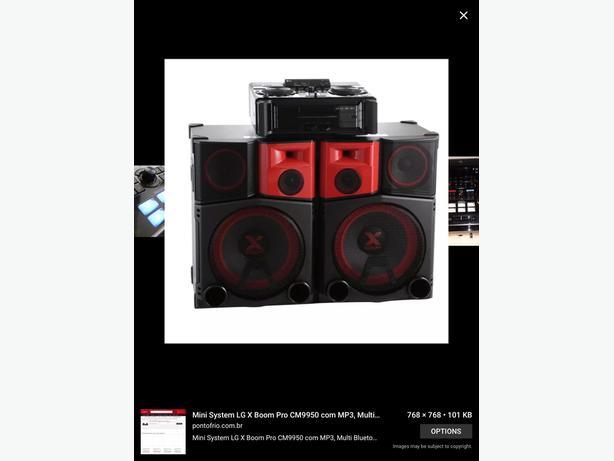 LG4400watt hi-fi system CM9950