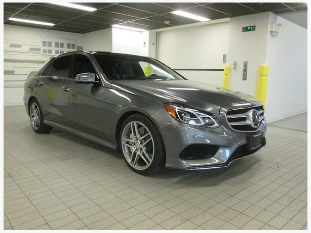 2016 Mercedes-Benz E550 4MATIC Sedan
