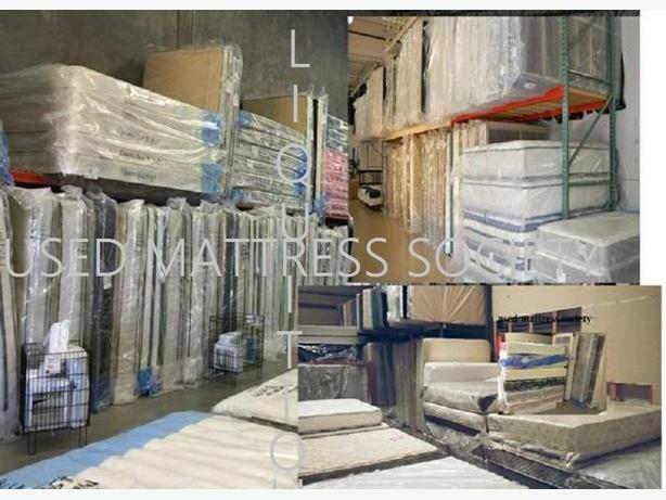 BIG SELECTIONS OF USED MATTRESSES MORE THE 1000 MATTRESSES IN STOCK