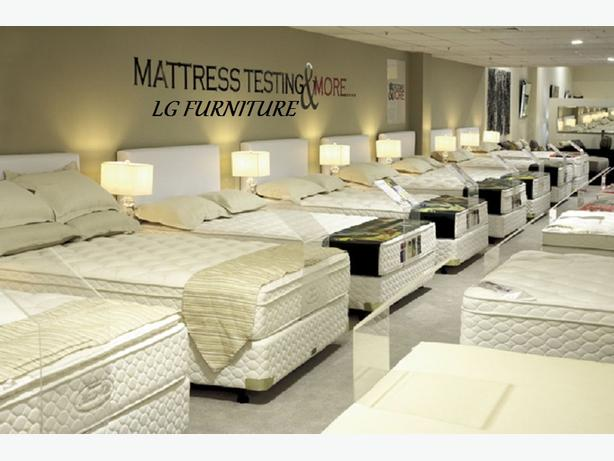 BEDS AND ALL SIZE CANADA MADE MATTRESSES FOR SALE