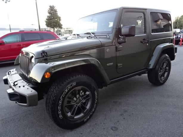 2016 Jeep Wrangler Sahara 1941 Edition - Like new!!!! ONLY 300kms