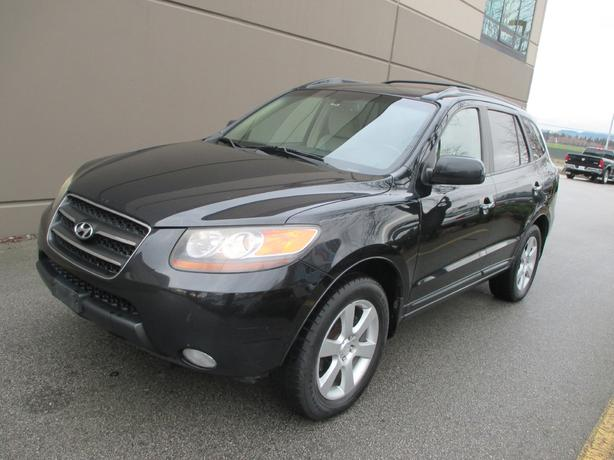 2007 HYUNDAI SANTA FE LEATHER - 1 YEAR WARRANTY! WE FINANCE!