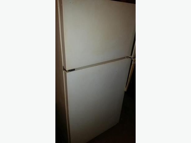 White Amana Fridge