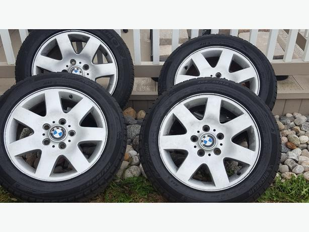 bmw rims and michelin sport snow tires nepean ottawa mobile. Black Bedroom Furniture Sets. Home Design Ideas