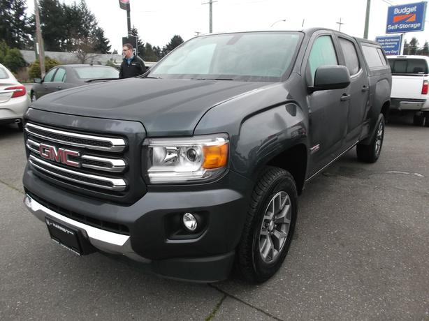 2015 gmc canyon crew cab all terrain for sale outside comox valley courtenay comox mobile. Black Bedroom Furniture Sets. Home Design Ideas
