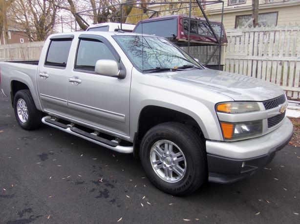 2010 CHEVROLET COLORADO LT CREW CAB !! 4X4 !! 107,000KMS !!