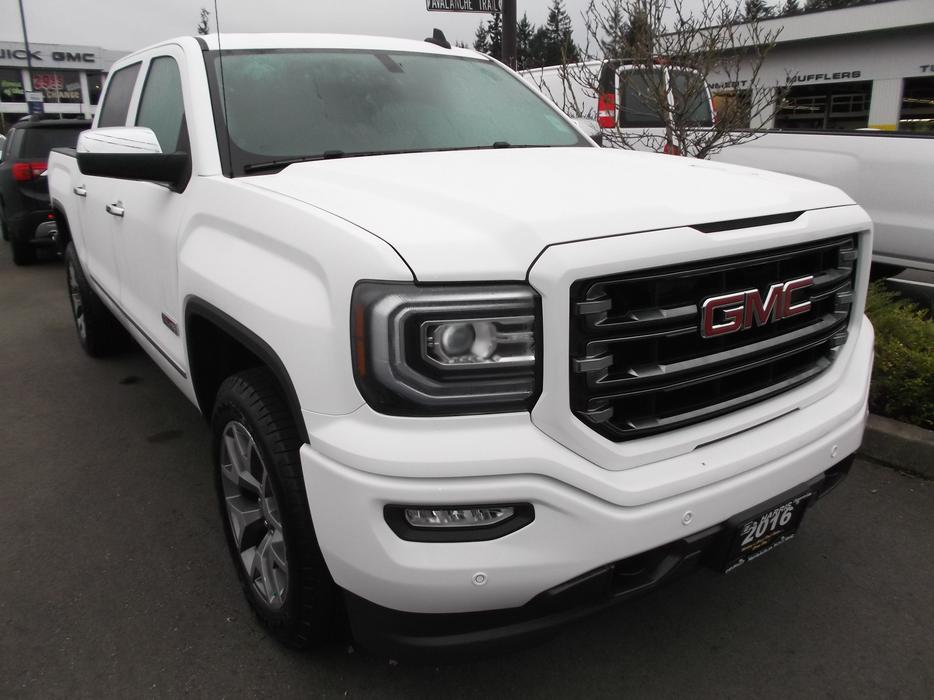 2016 gmc 1500 slt crew cab slt all terrain outside comox valley courtenay comox mobile. Black Bedroom Furniture Sets. Home Design Ideas