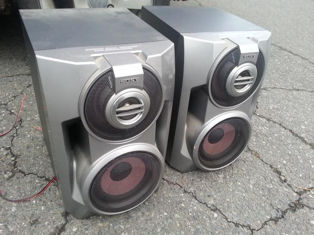 OBO: 2 Large Sony Home Theater Speaker/Subwoofers Central ...
