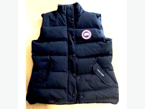 Ladies Canada Goose Down Vest Size L