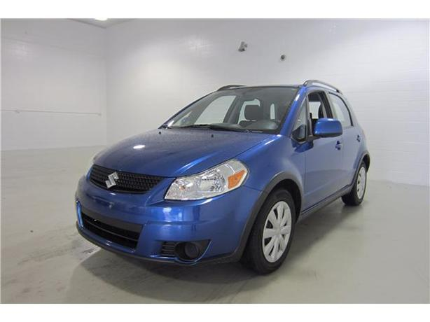 2012 SUZUKI SX4 AWD LOCAL VEHICLE WITH NO ACCIDENTS!