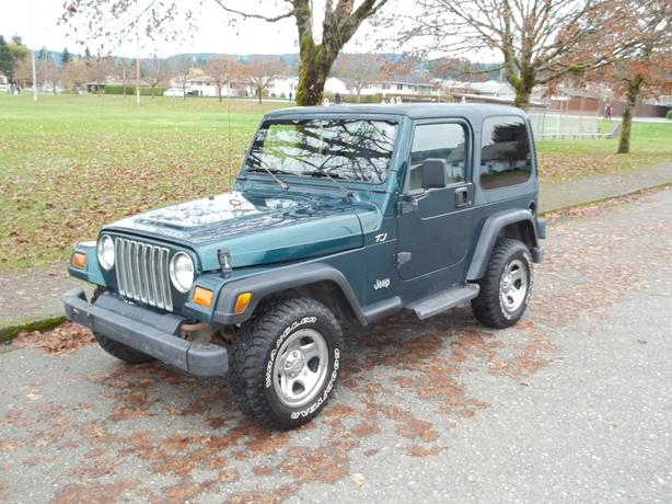 1997 JEEP TJ-SE-HARDTOP-CALL HART AT 250 724 3221