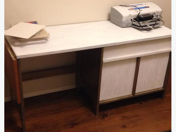 Utility desk great for art sewing crafts victoria city victoria - Extra long office desk ...