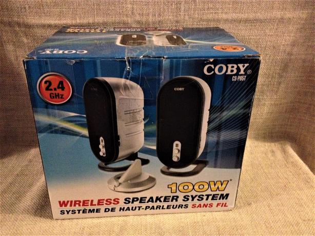 Coby CS-P95 2 Wireless Speakers