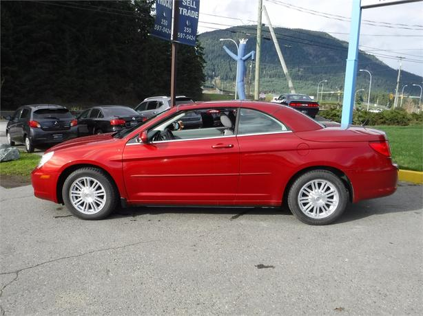 2008 chrysler sebring touring convertible alloy wheels. Black Bedroom Furniture Sets. Home Design Ideas