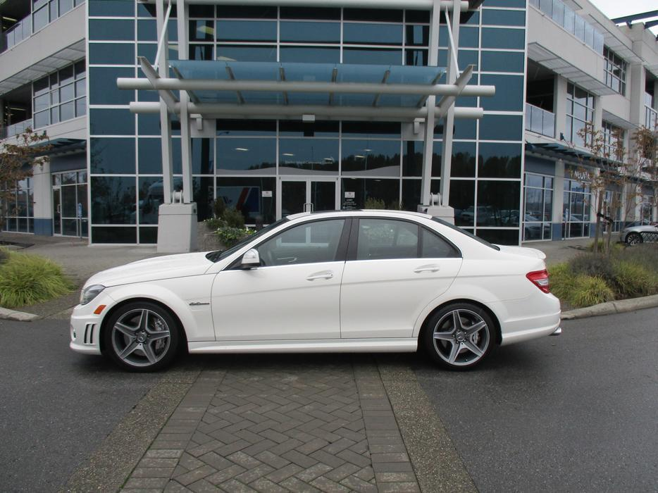 2009 mercedes benz c class c63 amg sale price outside for Mercedes benz north vancouver