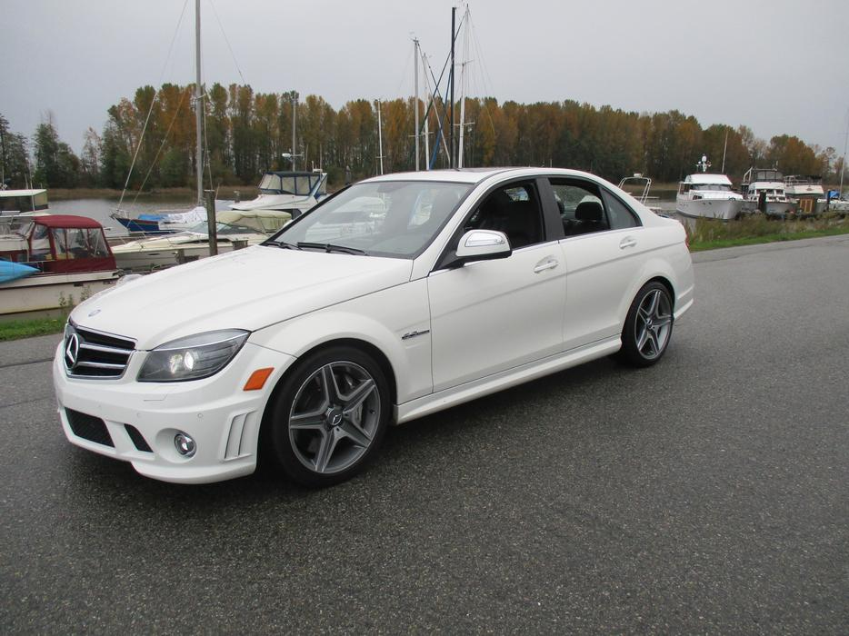 2009 Mercedes Benz C Class C63 Amg Sale Price Outside