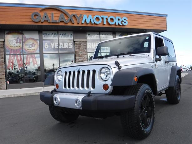 2012 Jeep Wrangler Sport - 4WD, 6spd Manual, Tow Hooks