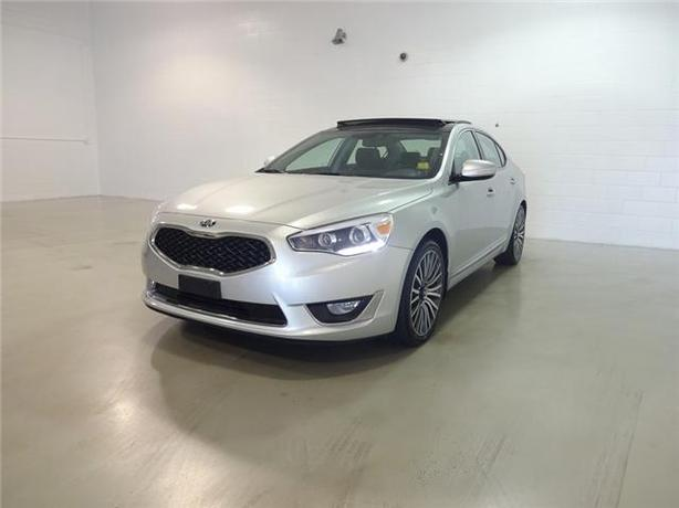2014 KIA CADENZA PREMIUM 40,487KM LOCAL NO ACCIDENTS!/PANORAMIC-SUNROOF