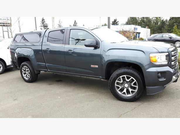 used 2015 gmc canyon 4wd sle all terrain for sale in parksville outside comox valley courtenay. Black Bedroom Furniture Sets. Home Design Ideas