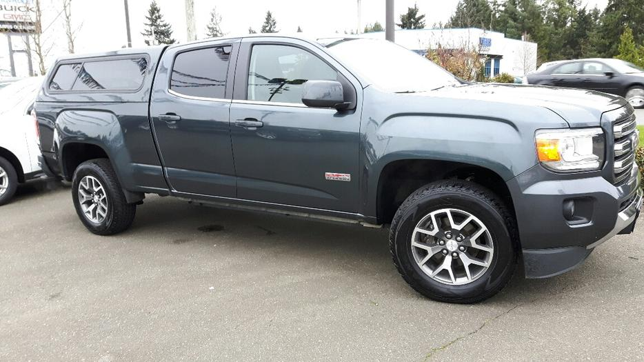used 2015 gmc canyon 4wd sle all terrain for sale in. Black Bedroom Furniture Sets. Home Design Ideas