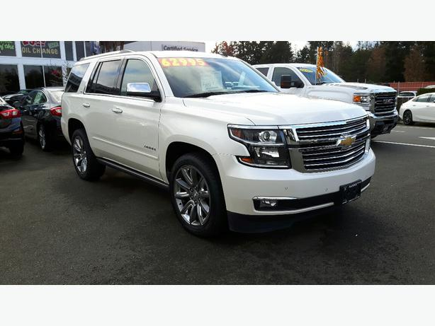USED 2015 CHEVROLET TAHOE LTZ 4X4 FPR SALE IN PARKSVILLE